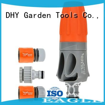 plastic garden sprayer nozzle+spray gun set+PP and ABS+Adjustable 2 watering pattern  spray nozzle+EG-702A