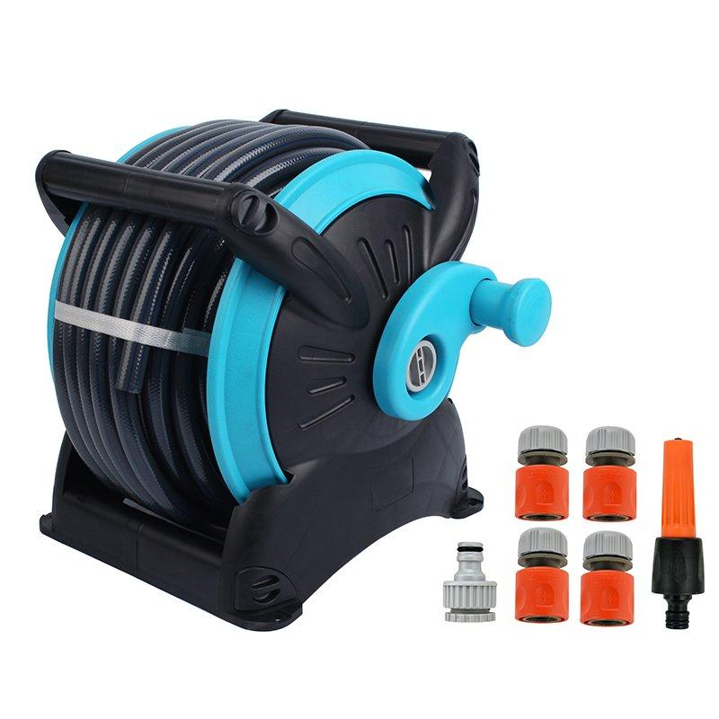 20 meter retractable pressure washer hose reel garage tool for car and garden watering agricultural irrigation+Stackable