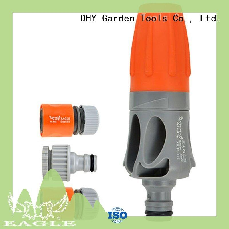 plastic garden hose nozzle spray for car wash Eagle