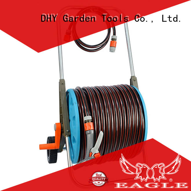 high efficiency garden hose and reel 8 series for watering