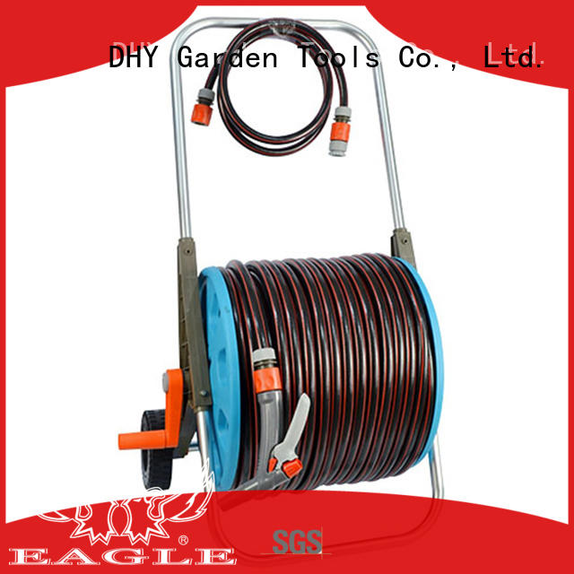 high efficiency 80m hose reel set patterns fast shipping for car wash