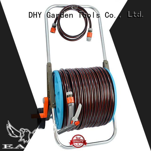 quick delivery hose and reel set 8 series for car wash