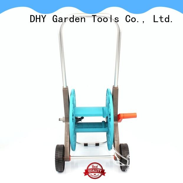 Eagle durable plastic hose reel cart factory for garden