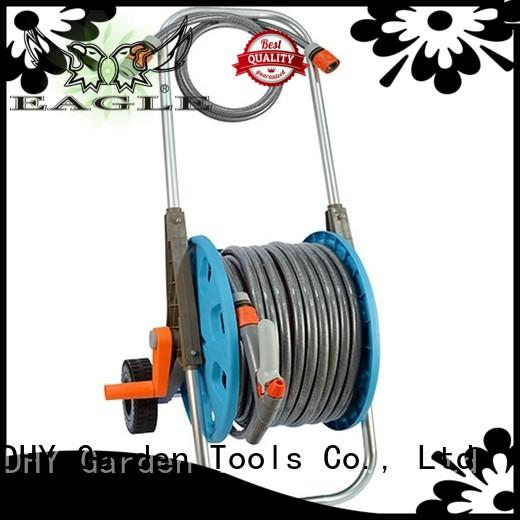 patterns hose spray nozzle 50m hose reel set Eagle