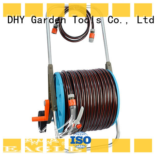 Eagle quality hose and reel set for watering